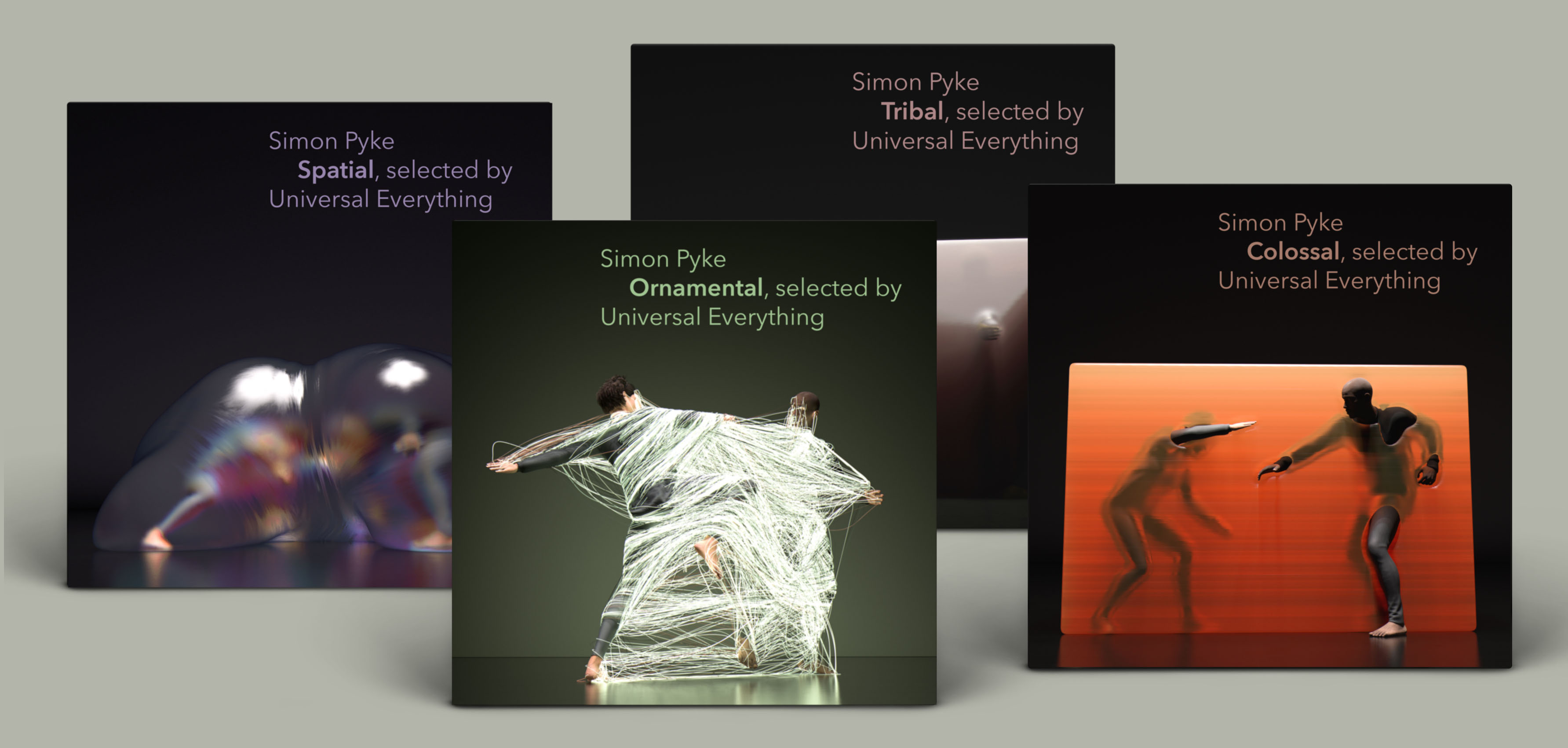 Spatial, Ornamental, Tribal, Colossal albums